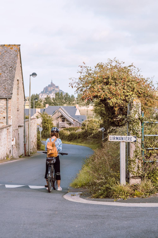 Fietsen Mont Saint Michel Normandie