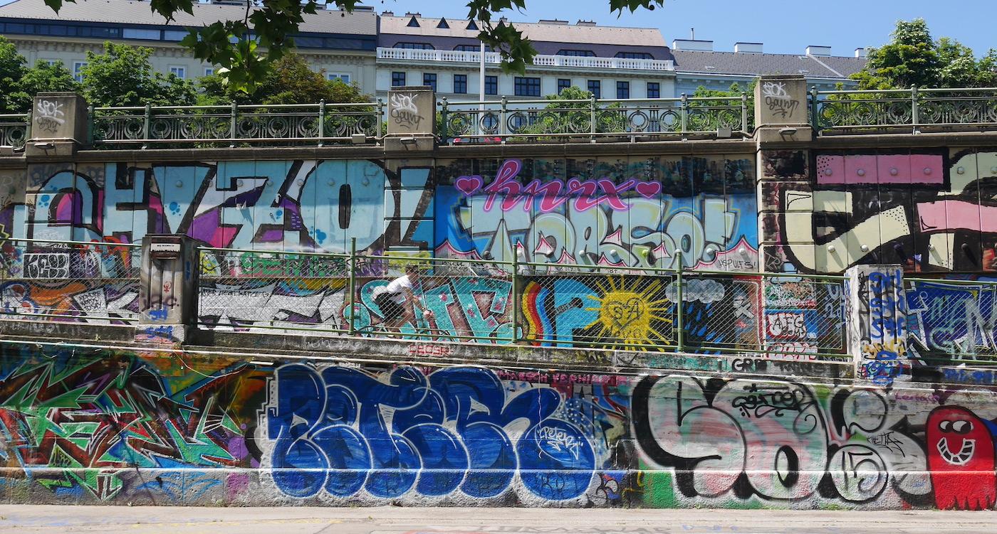 Fietsen door Wenen