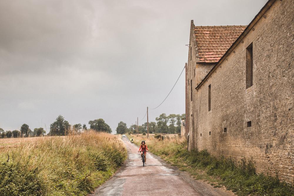 Fietsen in Normandie Arromanches