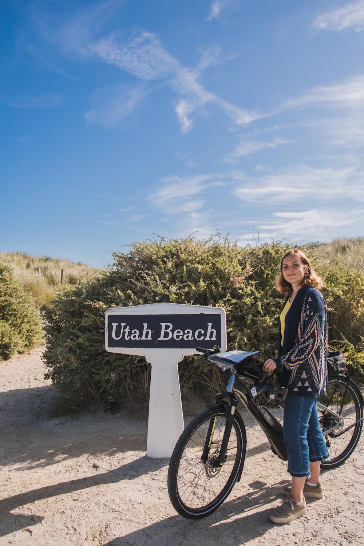 Fietsen in Normandie Utah Beach