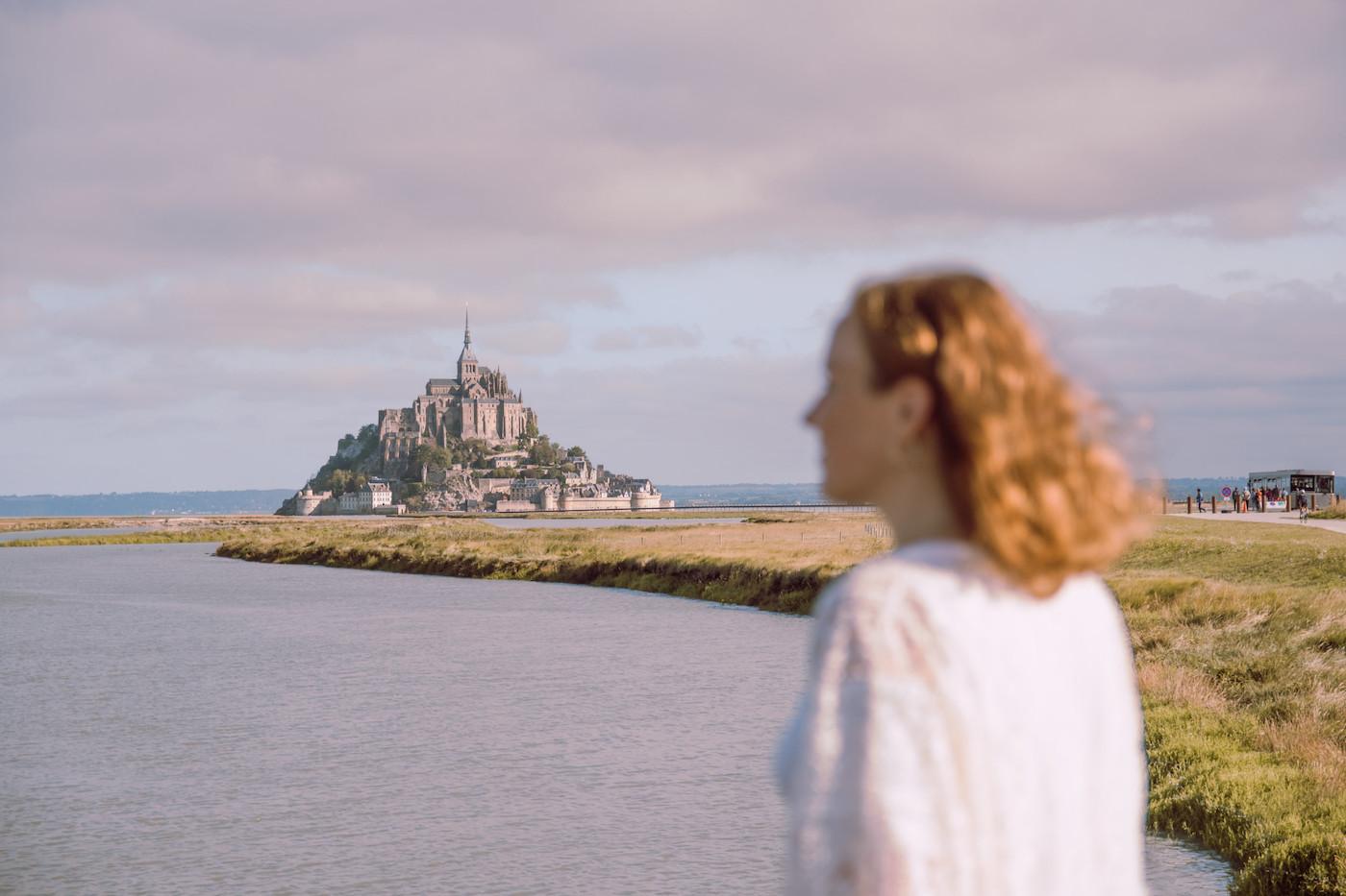 Fietsen in Normandie dag 4 Mont Saint Michel