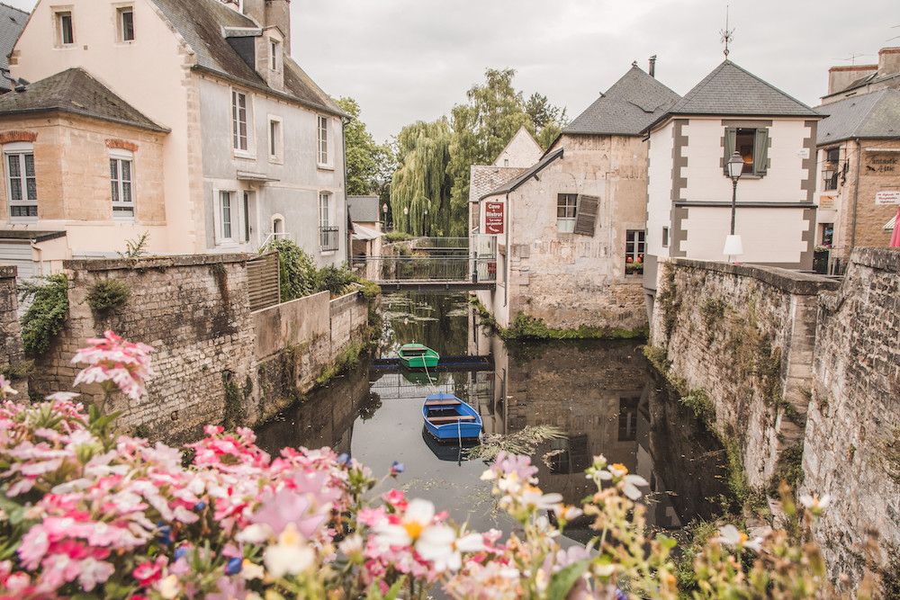 Fietsen in Normandie tip route Bayeux