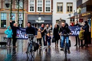 Fietsen nederland naar india