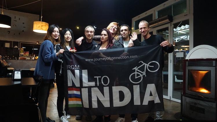 Fietsen nederland naar india journeyofconnection