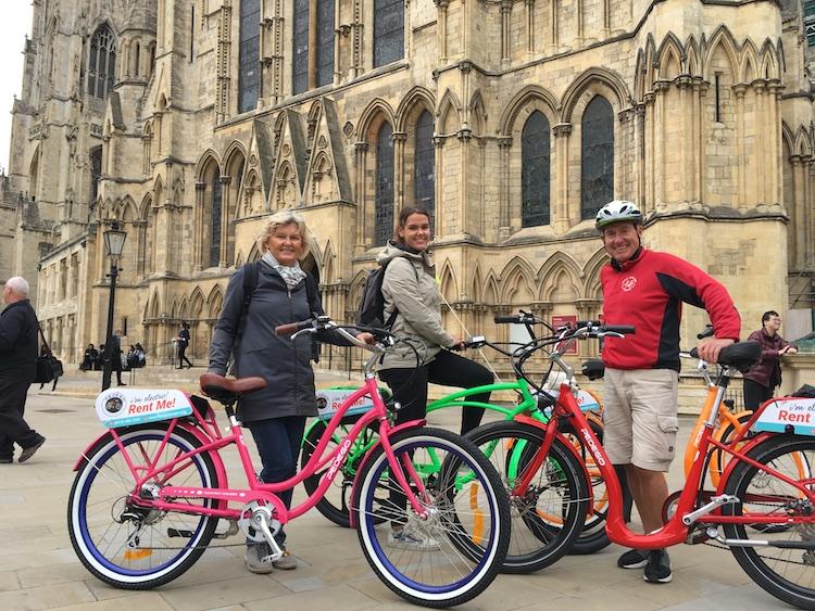 Fietsen york minster + york cycling tours