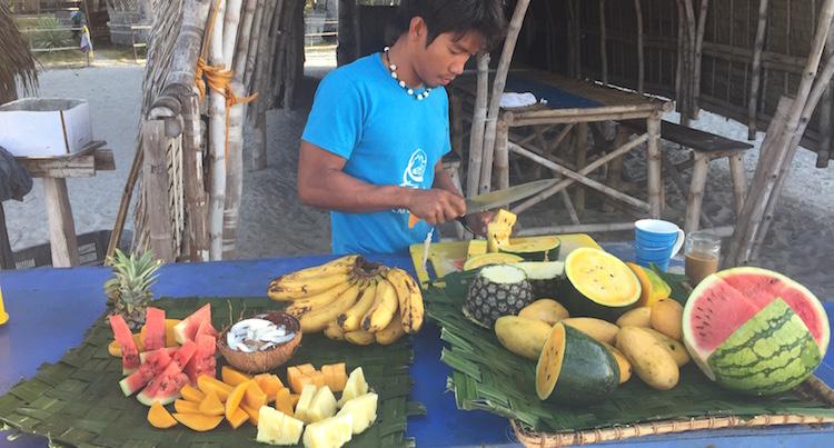Filipijnen backpacken alleen fruit