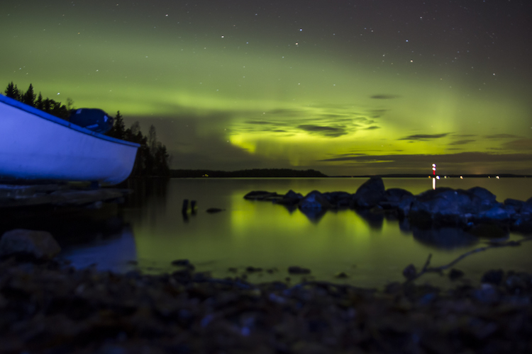Finland Noorderlicht boot