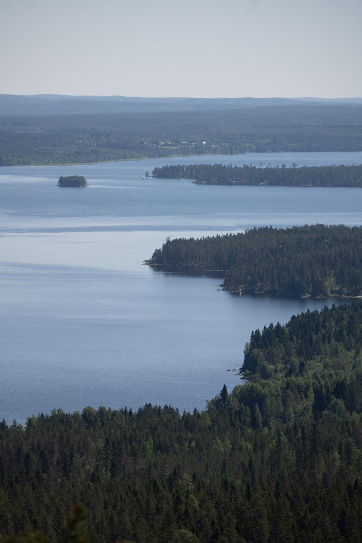 finland uitzicht zomervakantie