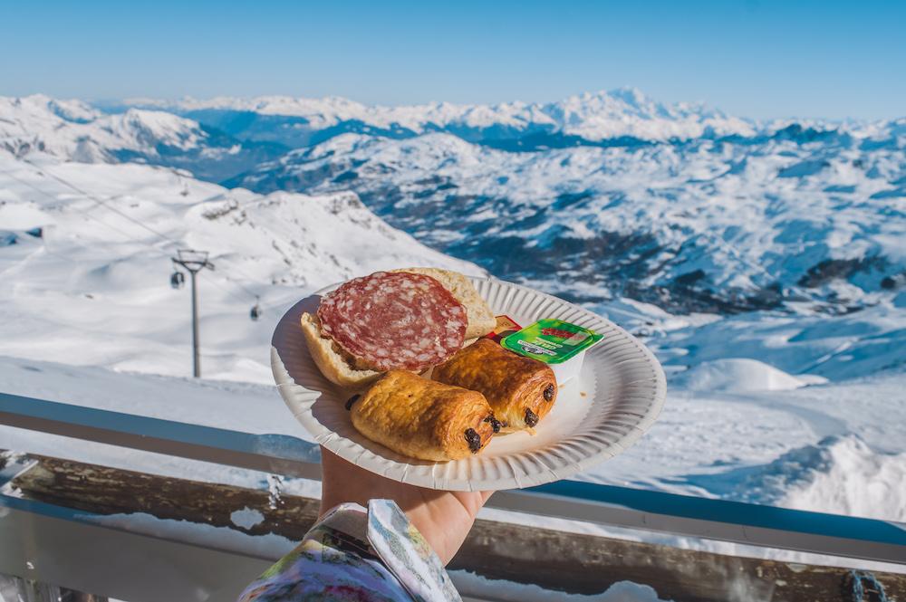 First track ontbijt les menuires wintersport