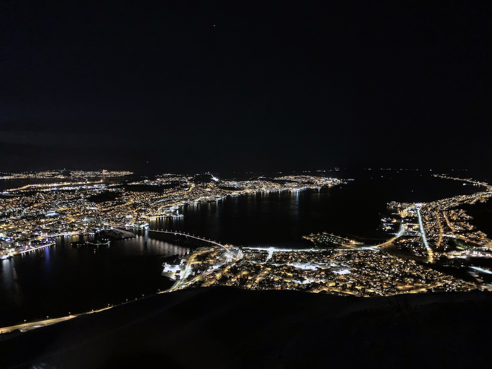 Fjellheisen Tromso winter