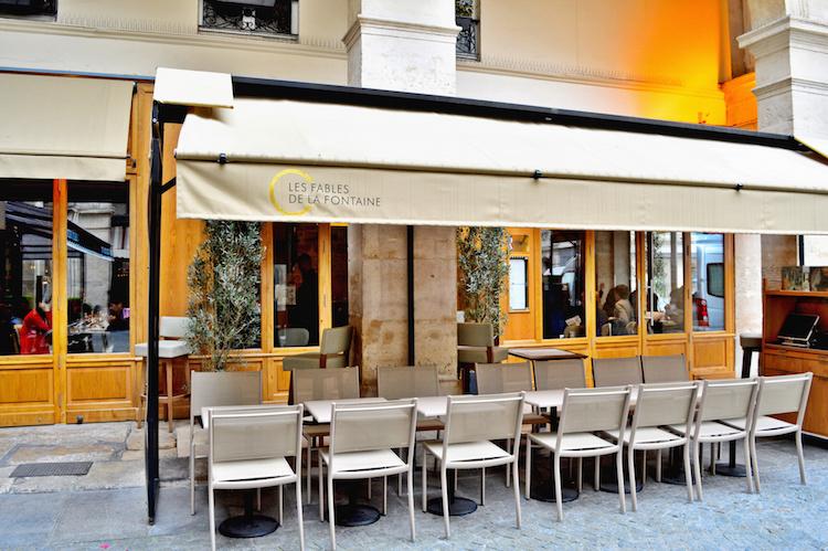 Fontaine top restaurant Parijs