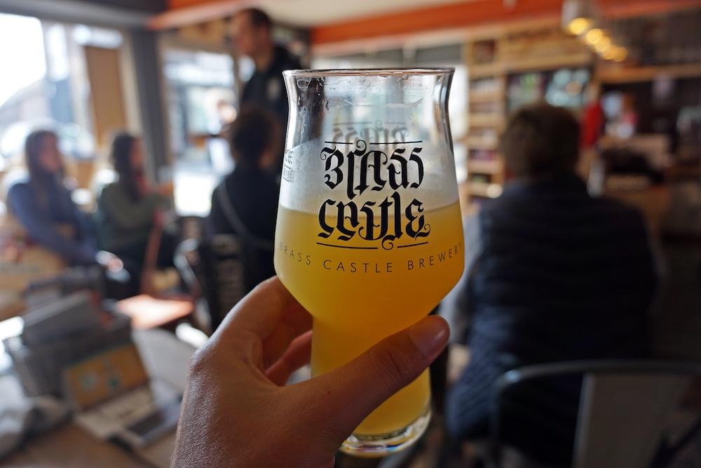 Food tour Malton - Brass castle brewery
