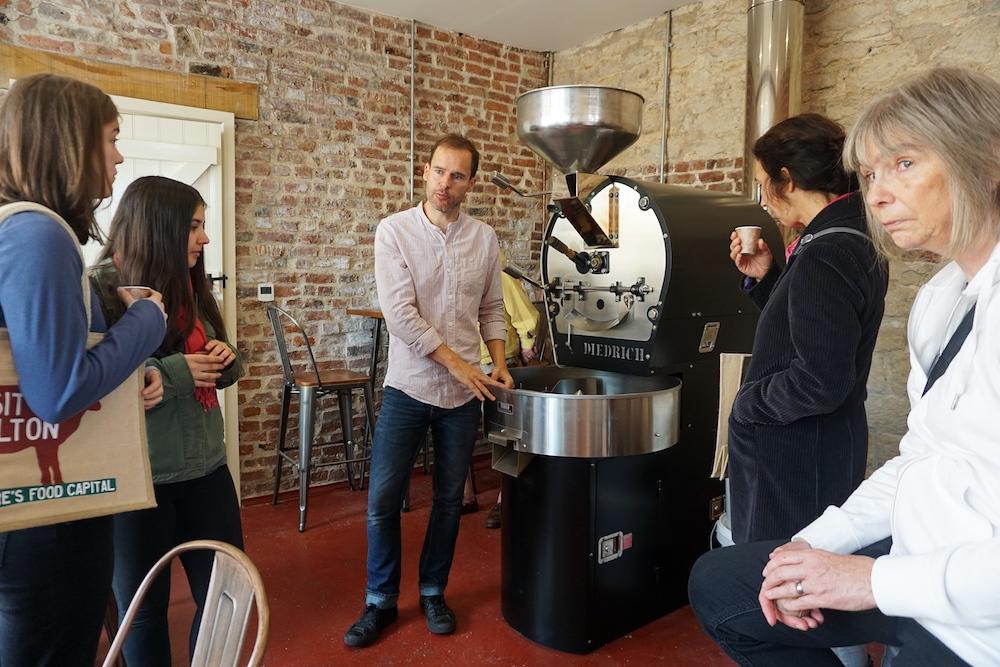 Food tour Malton - Coffee roast