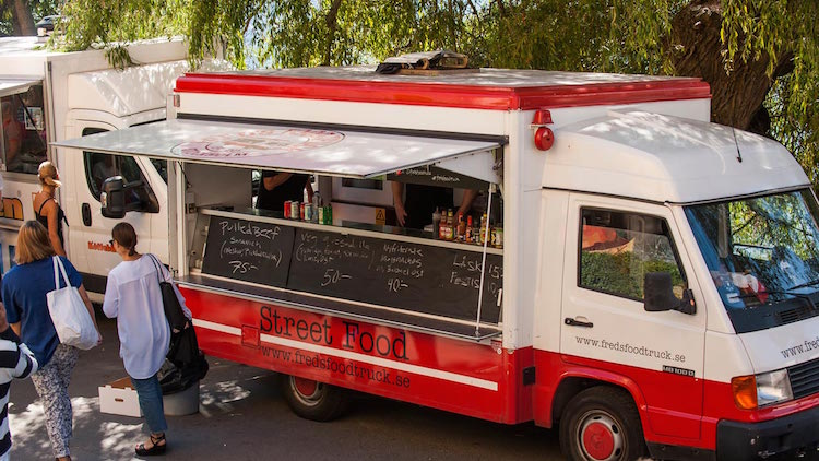 Foodtruck stockholm fred's Food Truck