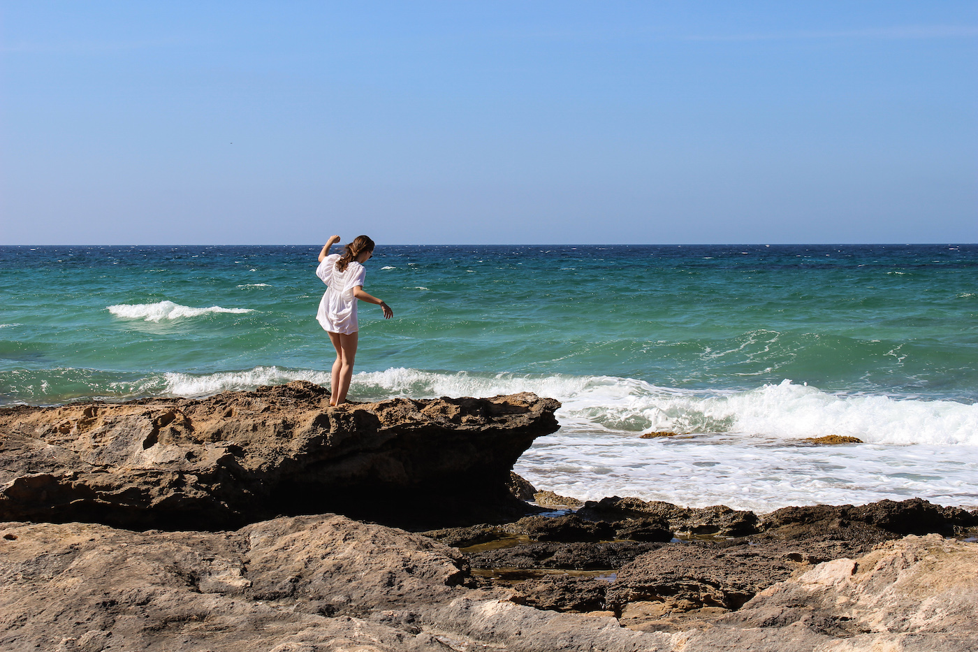 Formentera ibiza foto's zee