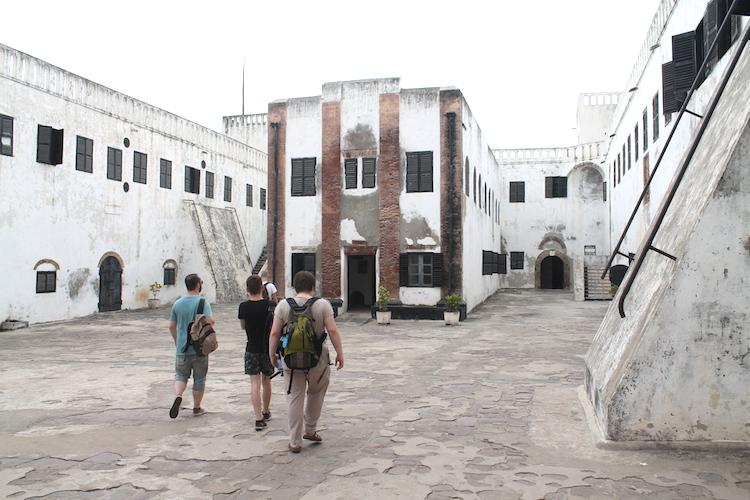 Fort Elmina in Ghana