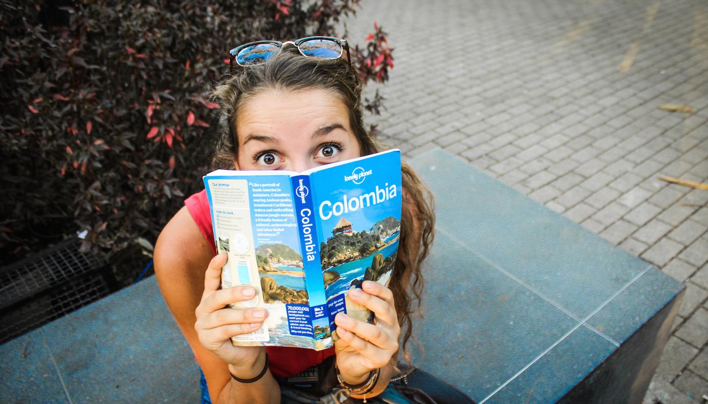 Foto's backpacken Colombia