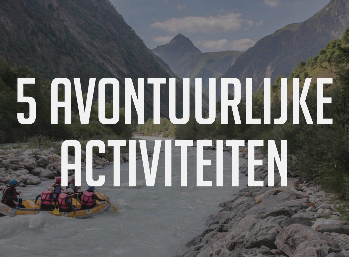 Franse alpen activiteiten