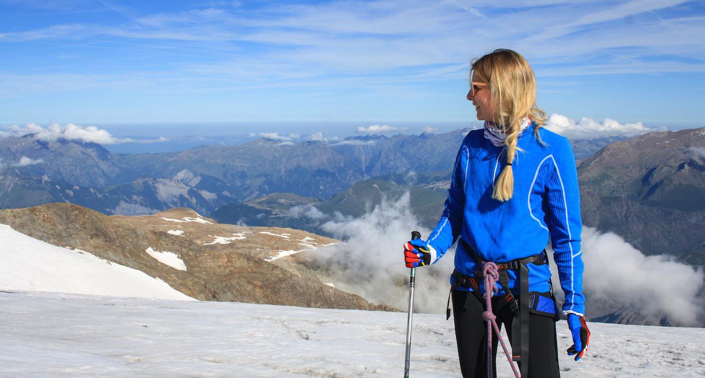 Franse Alpen avontuur activiteiten gletsjerwandelen 2