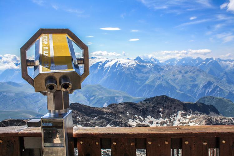 Franse alpen zomer ontspannen