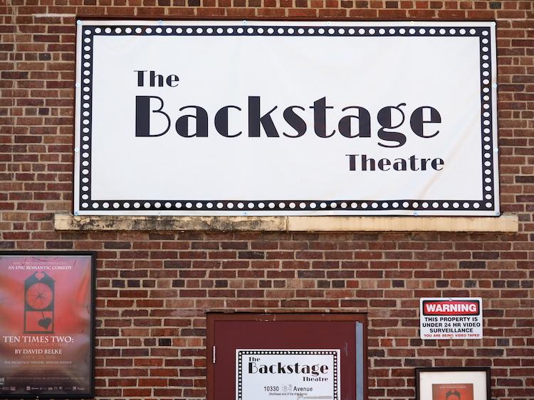Fringe Festival Edmonton Backstage theatre