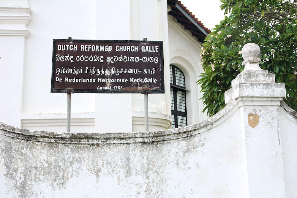 Galle Dutch Church