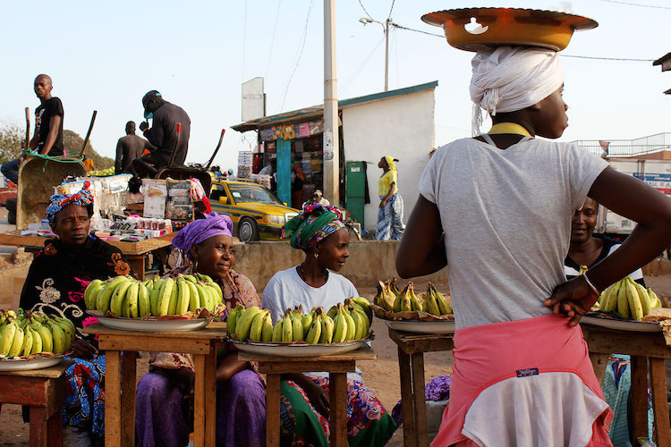 Gambia locals