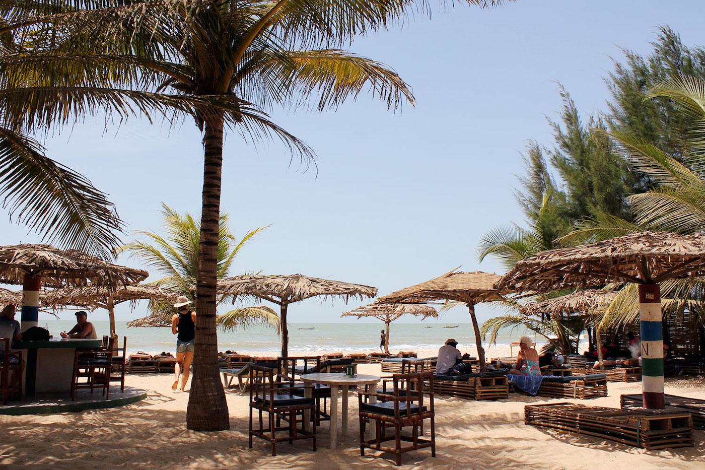 Gambia zonvakantie november stranden