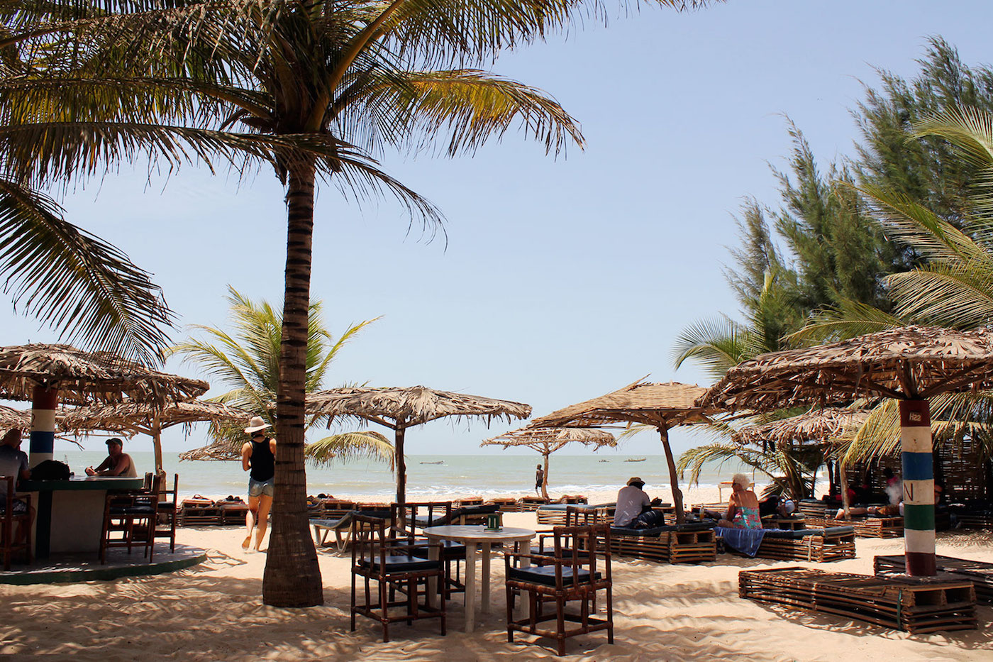Gambia stranden