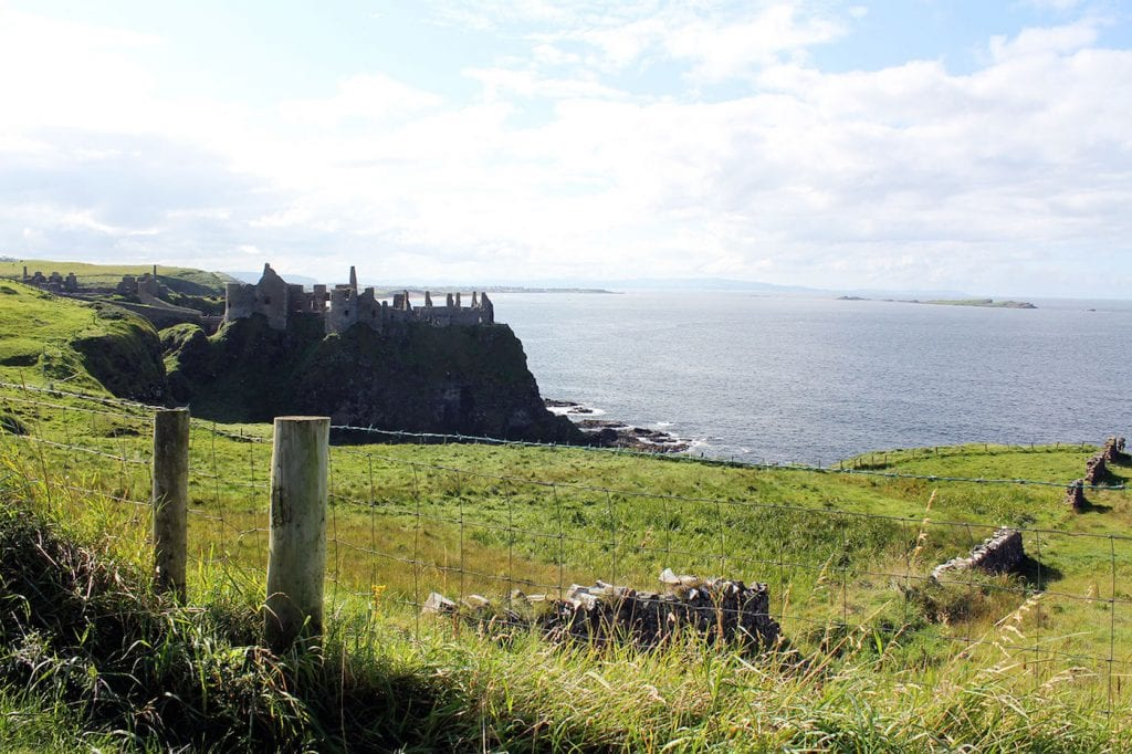 Game of Thrones Noord Ierland Dunluce-Castle
