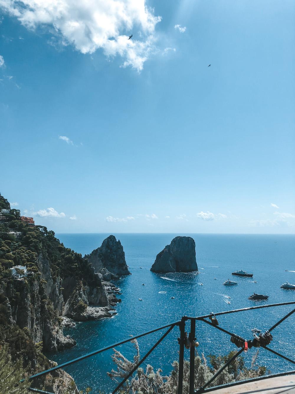 Gardini Di Augusto op Capri