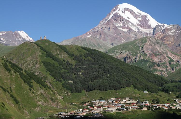 Georgie vakantie hoogtepunten Kazbegi