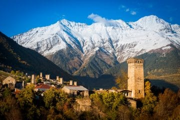 Georgie vakantie hoogtepunten Svaneti Mestia