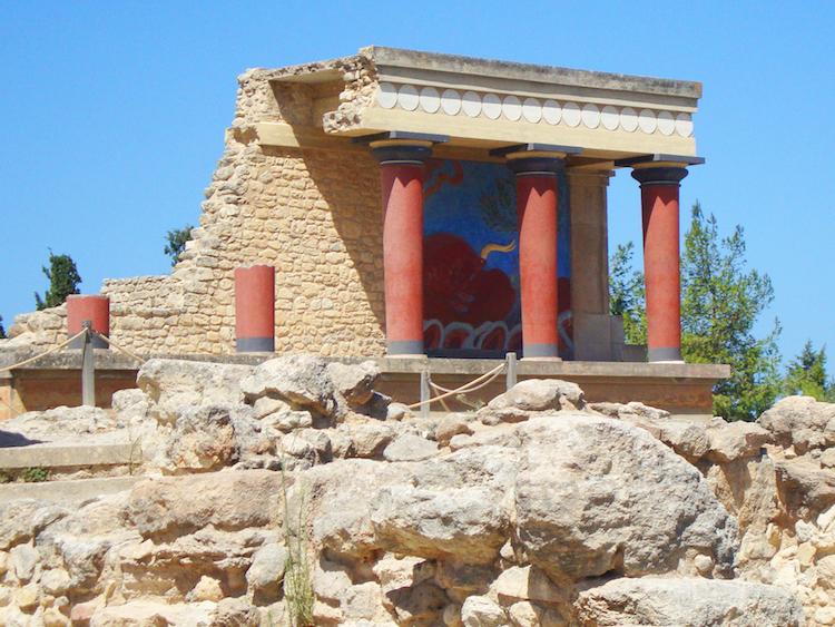 Geschiedenis van kreta Knossos