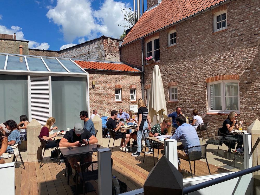 Gezellig Terras Brugge Bezienswaardigheden