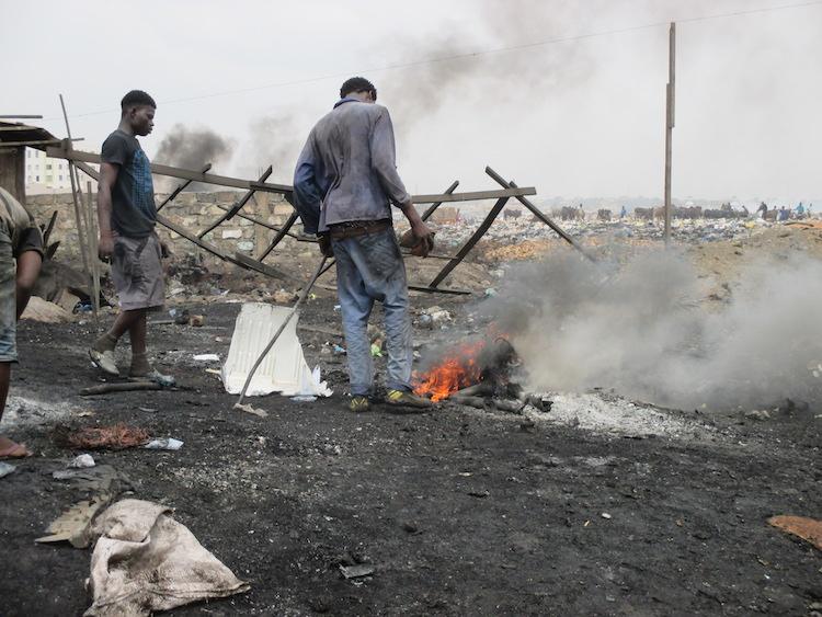 Ghana Sodom en Gomorrah e waste