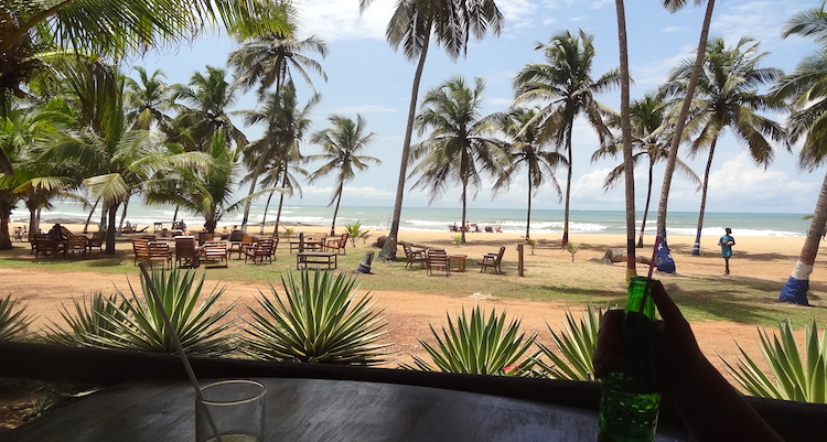 Ghana rondreis strand