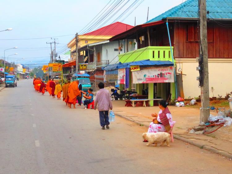 Gibbon Experience Laos Monnik