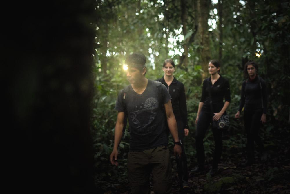 Gids Manu jungle peru tocht