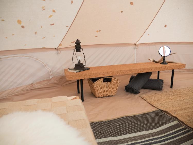 Glamping-Hub-tent-binnen