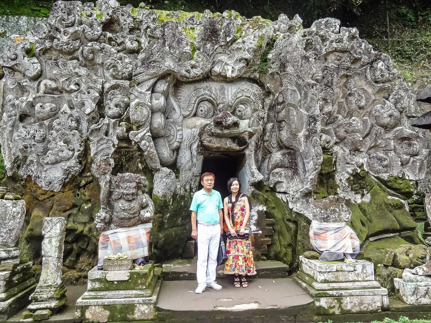 Goa Gajah Tempel Bali Ubud
