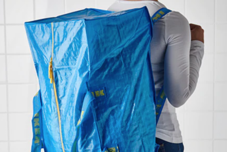 Goedkope backpack spullen fightbag FRAKTA ikea