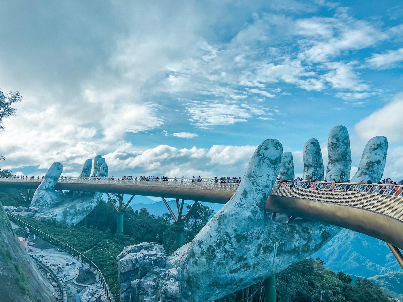 Golden Bridge in Vietnam