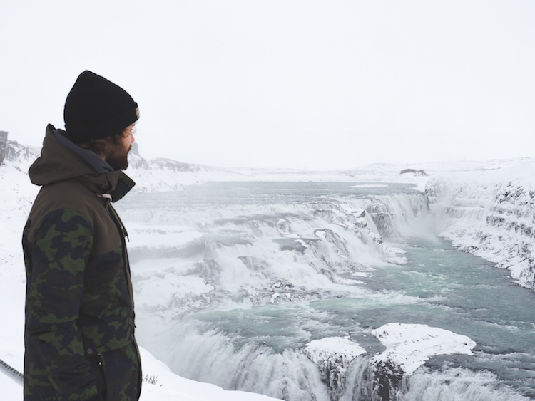 Golden-Circle-Ijsland-Gullfoss