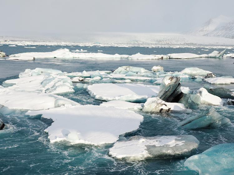 Jokulsarlon gletsjermeer