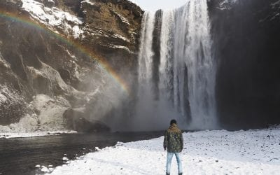 Golden-Circle-Ijsland-skogafoss