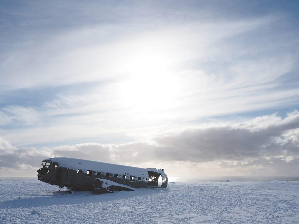 Golden-Circle-Ijsland-vliegtuig-wrak