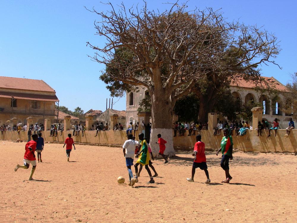 Gorée voetballen