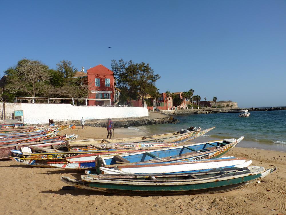 Het eiland Gorée, Senegal