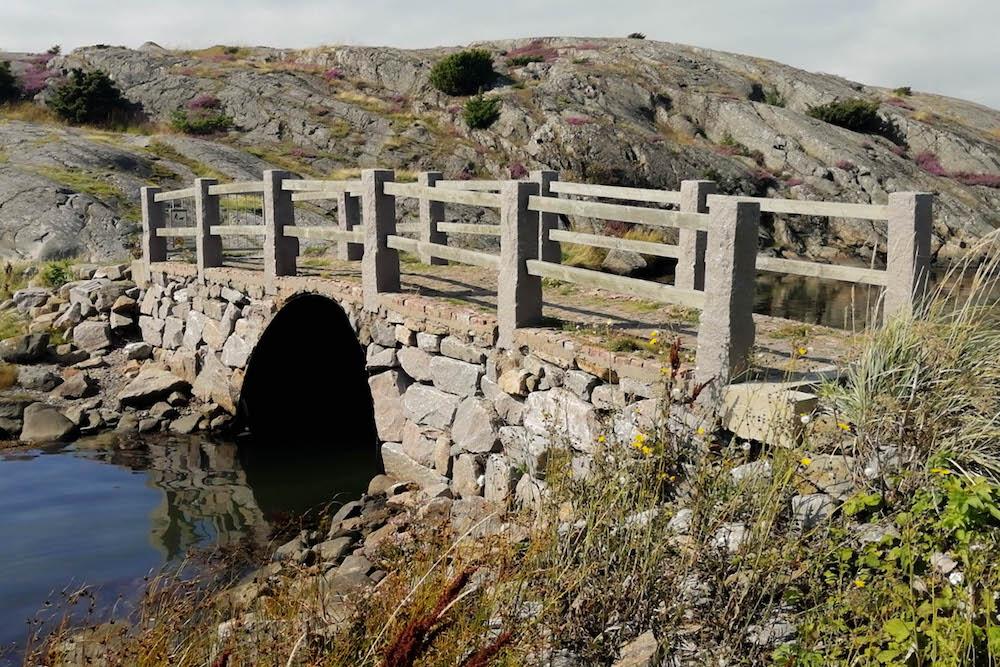 Gotenburg en de eilanden van Zweden bruggetje